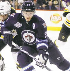 Winnipeg Jets' Toby Enstrom: robbed in Sweden