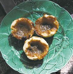 The quintessential Canadian butter tart.