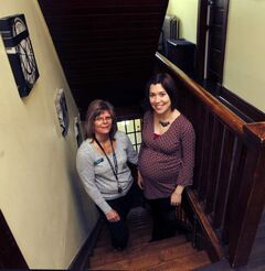 Tamarack Recovery Centre counsellor Sherry Gable (left) and executive  director Lisa Cowan: