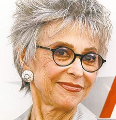 FILE - In this June 9, 2011 file photo, Puerto Rican actress and singer Rita Moreno arrives at the taping of