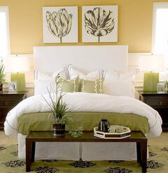 Colors like the Dulux shade known as Prairie Grass are among the brand's top-selling yellow paints.