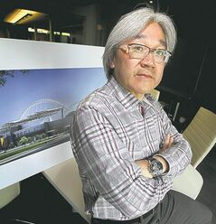 The finished product captures 99 per cent of architect Ray Wan's vision.