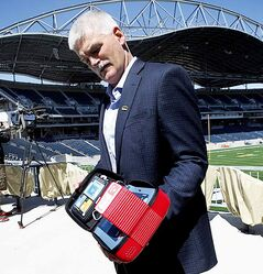 Winnipeg Blue Bombers chief operating officer Jim Bell announced last summer that 18 AEDs would be placed throughout Investors Group Field. The life-saving devices are now mandatory in public places throughout the province.
