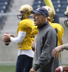 Gary Crowton is in charge of overhauling the Blue Bombers' offence -- and ensure his quarterback doesn't regularly get scraped off the field with a spatula.