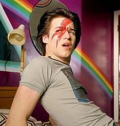 Grondin as a gay teen in C.R.A.Z.Y.