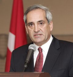 Tony Ianno is shown in Ottawa in a Monday, October 17, 2005 file photo. Former cabinet minister Ianno has joined a libel suit launched by his wife, Christine Innes, after she was barred from running for the Liberals in the recent Trinity-Spadina byelection. THE CANADIAN PRESS/ PR DIRECT PHOTO/Social Development Canada