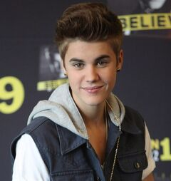 In this June 11, 2012 photo, pop star Justin Bieber poses for photos prior to a press conference at a hotel in Mexico City. Audio has been released of phone calls made last November from a prison near Las Cruces, New Mexico, detailing how Bieber was to be killed. THE CANADIAN PRESS/AP, Alexandre Meneghini