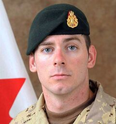Cpl. Josh Baker, who was killed in a training accident in Afghanistan, is shown in a military handout photo. THE CANADIAN PRESS/ho-Canadian Armed Forces