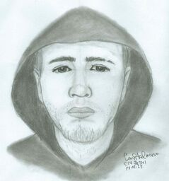 The male suspect in a Regent Avenue home invasion on Feb. 21 is shown.