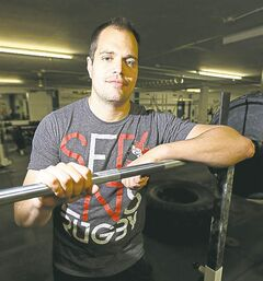 Matt Barr, University of Manitoba's new strength and conditioning coach.