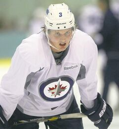 Highly touted Jets prospect Jacob Trouba will participate in the Young Stars Classic in Penticton, B.C.