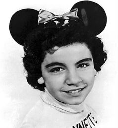 A 1955 file photo of Annette Funicello as a 'Mouseketeer' on Walt Disney's TV series the Mickey Mouse Club.