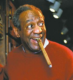 Dr. Cliff Huxtable (Bill Cosby) on The Cosby Show.