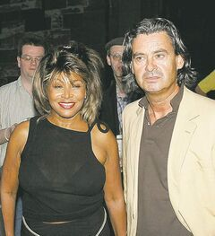 Tina Turner and longtime beau Erwin Bach were married about a month ago.