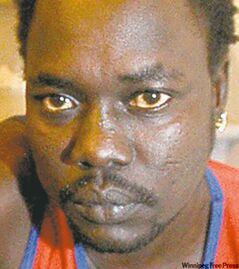 Clato Mabior was deported to South Sudan, the Canada Border Services agency said.