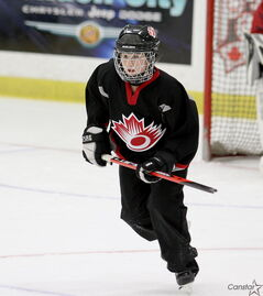Shannon Sarahs and Team Canada West won bronze at the Under-19 World Ringette Championship.