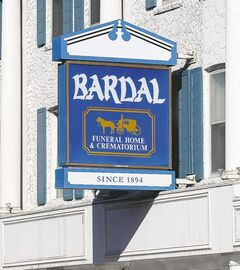 Bardal Funeral Home and Crematorium isn't owned by the Bardal family.