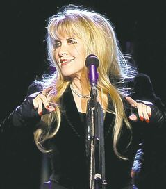 Singer Stevie Nicks