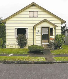 The childhood home of Kurt Cobain