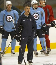 Head coach Claude Noel has the unenviable task of creating chemistry on the new Jets.