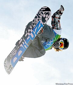 Shaun White of the U.S. led from start to finish to win gold medal.