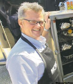 Manitoba Open Barbecue Competition producer/organizer Perry Hopkins.