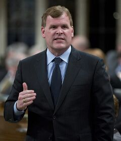 Minister of Foreign Affairs John Baird responds to a question during question period in the House of Commons Tuesday February 26, 2013 in Ottawa. THE CANADIAN PRESS/Adrian Wyld