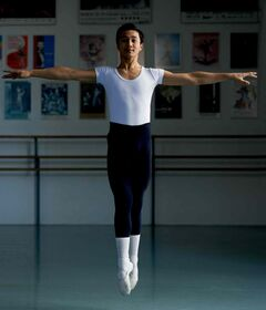 Maples kid Justin Calvadores, 17, plays Julien in the Royal Winnipeg Ballet's production of Nutcracker.