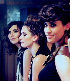From left -- Michelle Anderson, Amber Quesnel and Jess Rae Ayre are Sweet Alibi. They will celebrate the release of their second album, We've Got To..., with a show at the West End Cultural Centre on Nov. 20