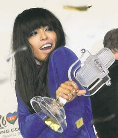 Sweden's Loreen pretty much ran away with the trophy at this year's Eurovision Song Contest.