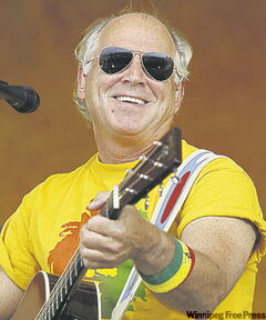 Singer Jimmy Buffet.