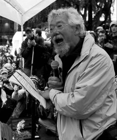 David Suzuki accuses Ottawa of
