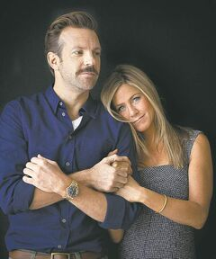 Sudeikis and Aniston team up for the second time in We're the Millers.