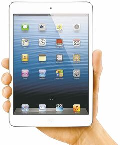 iPad mini: Apple�s best-selling tablet gets a baby brother: iPad mini is a 7.9-inch tablet that�s compatible with all existing apps.   GIFTS-TECH-TOYS    For Marc Saltzman (For Postmedia News) GIFTS-LM-TECH