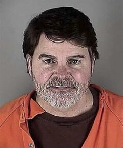 In this photo provided by the Hennepin County, Minn., Sheriff's Office is Fox News anchor Gregg Jarrett. Authorities say Jarrett has been charged with a misdemeanor following his arrest Wednesday, May 21, 2014 at Minneapolis-St. Paul International Airport. An airport spokesman said officers reported Jarrett seemed intoxicated, acted belligerently and refused to follow orders. (AP Photo/Hennepin County Sheriff's Office)