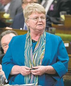 Revenue Minister Gail Shea