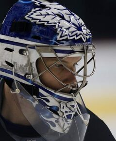 Goaltender James Reimer, the pride of Morweena, will suit up in front of friends and family.
