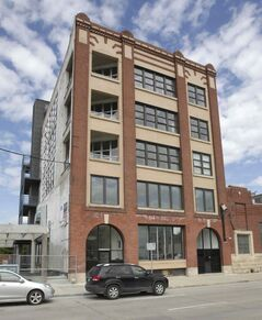 448 Hargrave St. features condos and commercial space.