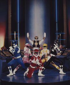 FILE - This publicity file photo provided by Saban Brands, shows a scene from the