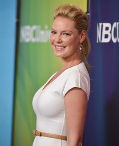 Katherine Heigl attends the NBC 2014 Summer TCA held at the Beverly Hotel on Sunday, July 13, 2014, in Beverly Hills, Calif. (Photo by Richard Shotwell/Invision/AP)