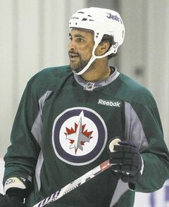 Winnipeg Jets defenceman Dustin Byfuglien can't wait for puck drop in the first game back from the Olympic break.