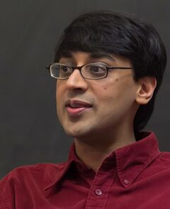 Manjul Bhargava is seen in this undated handout photo. Princeton University math professor Manjul Bhargava, who is born in Hamilton, is a recipient of the Fields Medal, an award often called the Nobel Prize of math. THE CANADIAN PRESS/ HO, Princeton University