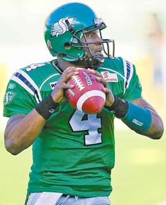 Riders QB Darian Durant will have an edge over Ticats QB Henry Burris given Durant's experience in cold weather, particularly last weekend.