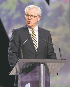 Premier Greg Selinger: 'another level'