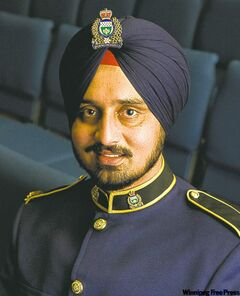 Const. Gurvinder Singh Chakal: 'proud of myself'
