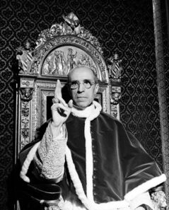 Whatever the truth of the matter on the Pius XII file, the papacy's history is certainly that of an institution deeply embroiled in the nitty gritty of politics and power.