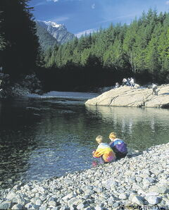 Golden Ears Provincial Park is one of the largest provincial parks in B.C.