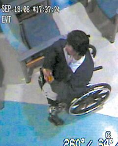 Brian Sinclair in an image from an ER video.