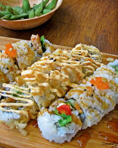 Just a sample of the many rolls offered as part of Magic Sushi 2's all-you-can-eat special.