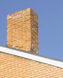 If the mortar lines between bricks on a chimney deteriorate, they will allow in moisture. This can freeze during winter and cause damage to the chimney.